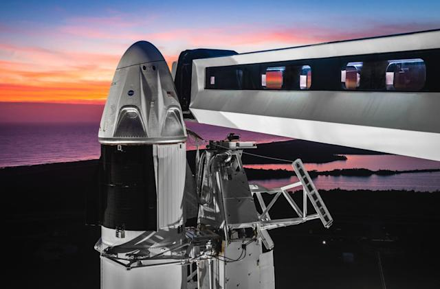 SpaceX postpones first Crew Dragon flight until March 2nd
