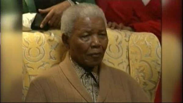 Nelson Mandela in critical condition at hospital