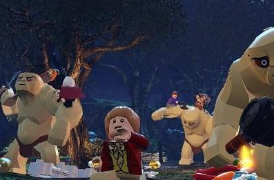 Lego: The Hobbit shares in an adventure this April