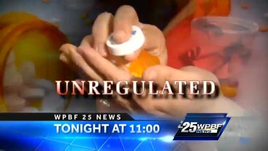 Tonight on WPBF 25 News at 11: Prescription drug controversy