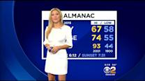 Jackie Johnson's Weather Forecast (April 24)