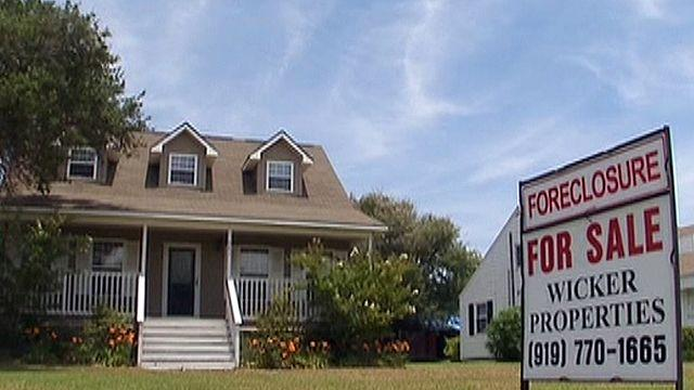 Fewer homes heading for foreclosure