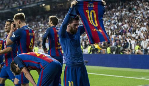 Primera Division: Matchwinner Messi: Seid froh, jetzt zu leben