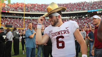 Baker is still talking all sorts of junk about Texas