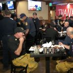 Woolsey Fire firefighters get free hot meal, place to rest at Agoura Hills restaurant