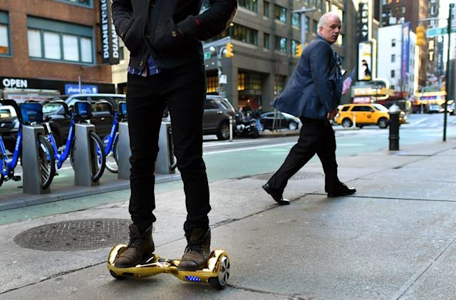 New York City won't let you take 'hoverboards' on the subway