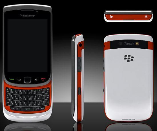 BlackBerry Torch 9800 gets the Colorware treatment, sees value increase infinitely