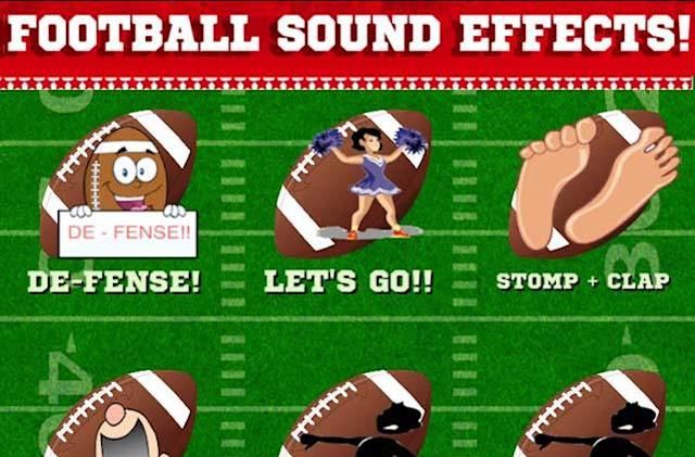 Bring the noise of the crowd home with Football Sound Effects