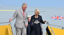 Prince Charles and Camilla travel with one unnecessarily large entourage (that left Theresa May without a plane)