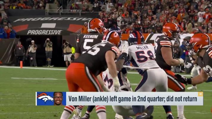 Rapoport: Injuries to Von Miller, Baker Mayfield not season ending