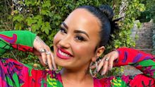 Demi Lovato's Manicure Spells Out An Important Political Message
