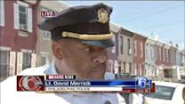 Lt. David Merrick updates South Philadelphia collapse
