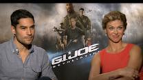 D.J. Cotrona And Adrianne Palicki Fight Back In 'G.I. Joe: Retaliation'