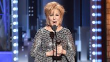 Bette Midler defies orchestra during epic Tony Awards speech: 'Shut that crap off'