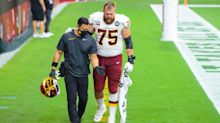 Washington places Brandon Scherff on IR, elevates Cam Sims to active roster