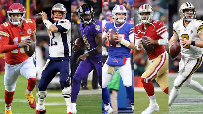 NFL in 90: Chiefs at Patriots, Ravens at Bills, and 49ers at Saintsv