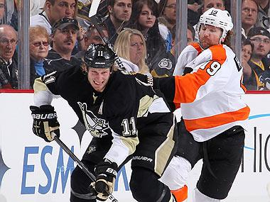The Penguins and Flyers face off in what could be the most contentious series in the first round of the 2012 NHL playoffs