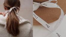 還在用Chanel、Dior絲帶綁頭髮?其實還可試試這些用法!