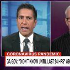 'Inexcusable': Dr. Sanjay Gupta Goes Off on Georgia Governor's'Stunning' Coronavirus Admission