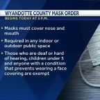Wyandotte County face mask order goes into effect Tuesday
