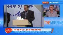 State funeral being held for Ian Kiernan