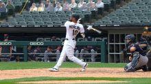 Yoán Moncada's solo home run