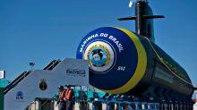 Brasil lanzó al mar un ultramoderno submarino para vigilar sus aguas