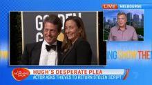 Hugh Grant's desperate plea to thief