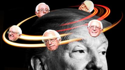What Trump says about Bernie Sanders in private