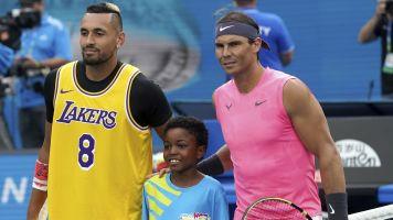 Nadal outlasts Kyrgios in Aussie Open thriller