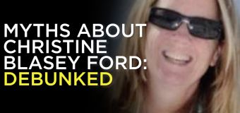 Debunking myths about Christine Blasey Ford