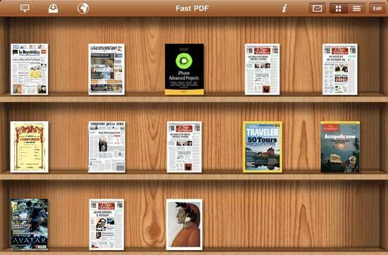 Fast PDF brings iBooks functionality to PDF files