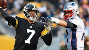 Follow live: Steelers and Patriots clash again