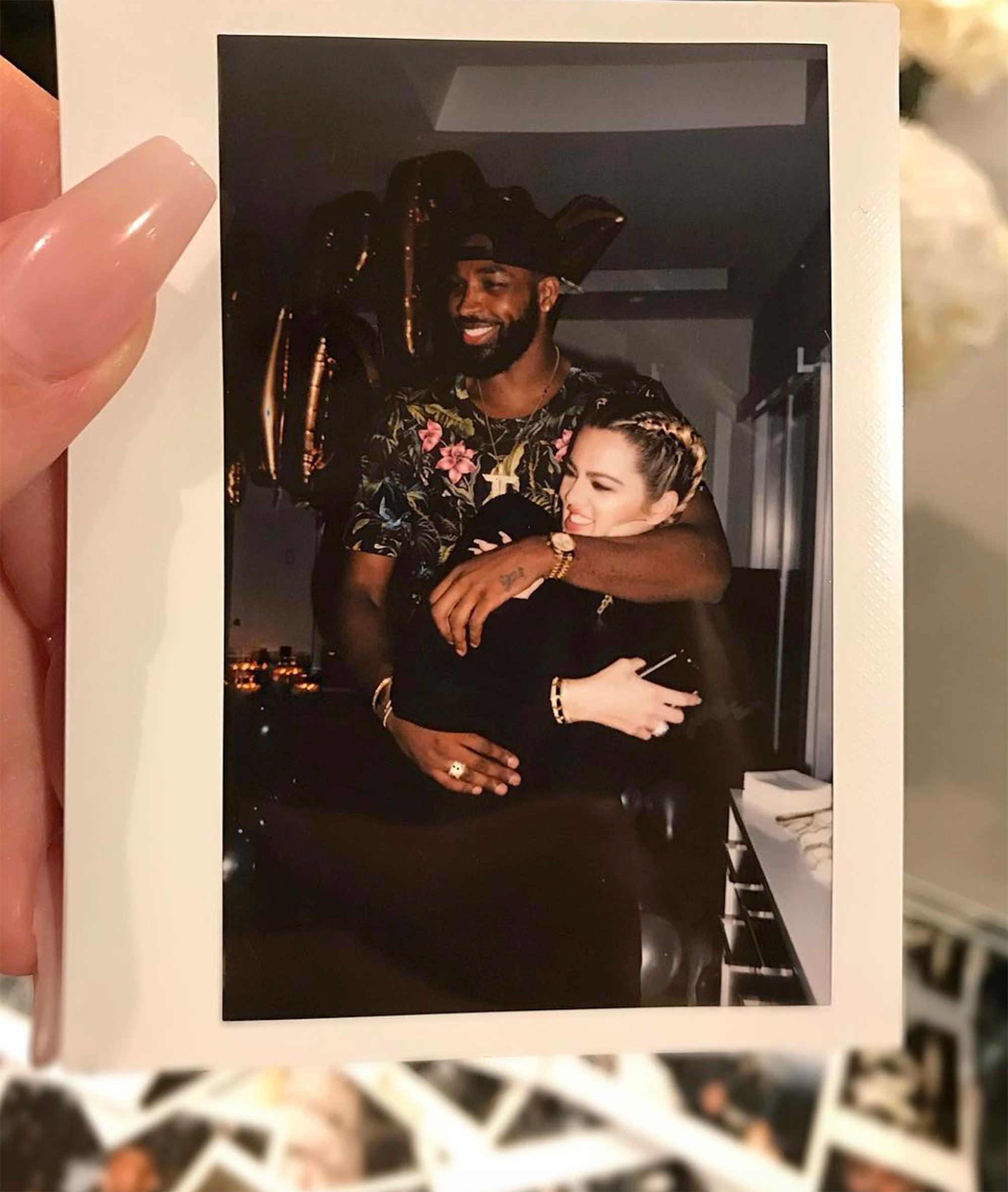 US\u0027: Khloé Kardashian Shares Adorable Polaroid with Beau Tristan ...