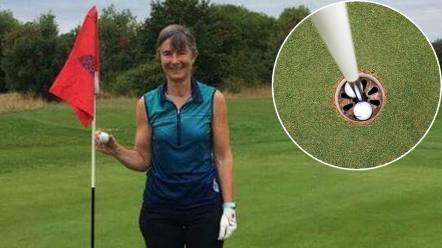 Two aces in one hole: Amateur golfer's crazy feat