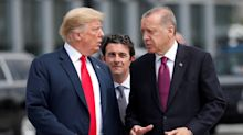 Erdogan tells Turks to buy crumbling lira as Trump turns the screws