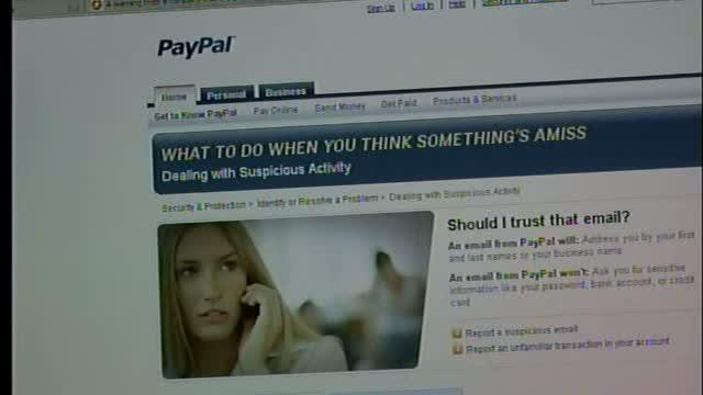 Warning from Paypal about suspicious emails