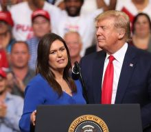 Sarah Huckabee Sanders boasted of getting a 'Trump vaccine,' part of a campaign to claim credit for the shots