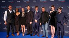 Guardians of the Galaxy cast including Chris Pratt, Bradley Cooper and Zoe Saldana sign statement backing James Gunn after sacking