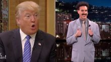 Sacha Baron Cohen Revives Borat To Mock Donald Trump