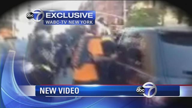 Exclusive new video of beating in biker SUV attack