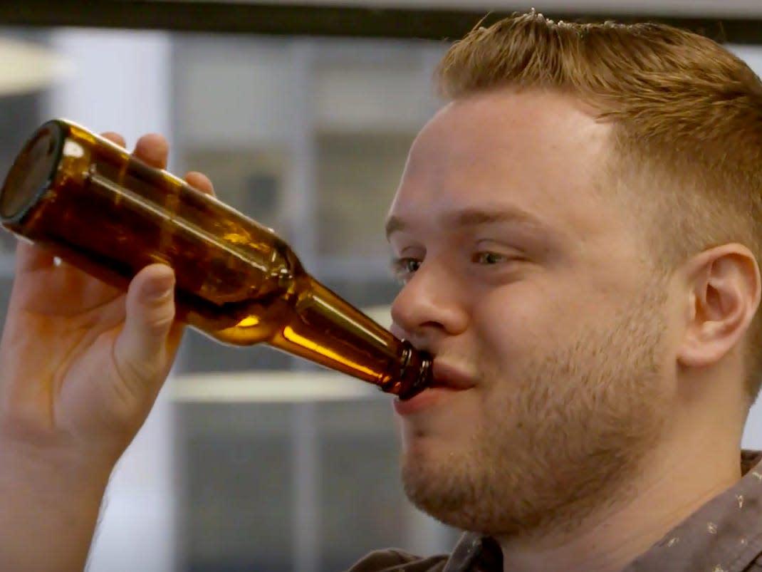 Why men get beer bellies