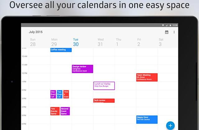 Cyanogen users are getting a new stock calendar