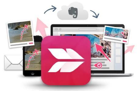 Skitch updated with OS X Mavericks compatibility, spiffy new icon