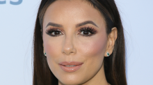 Eva Longoria uses a $10 root spray to cover her grays like magic — and it's on sale