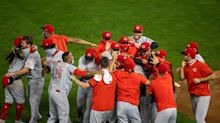 Inside details on how the Cincinnati Reds celebrated their first playoff berth in 7 years