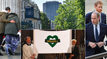 Grenfell Tower memorial service offers 'words of healing and truth' as Royals join mourners to remember victims