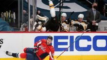 Tom Wilson launches Curtis Lazar into outer space with monster hit