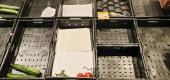 Empty food shelves. (Getty Images)