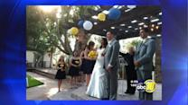 Thieves take couple's wedding gifts